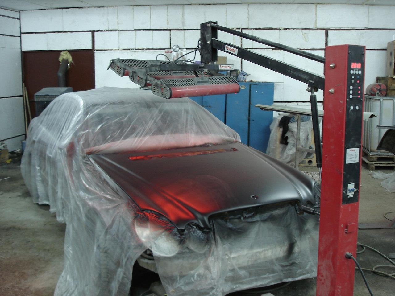 Покраска капота авто своими руками